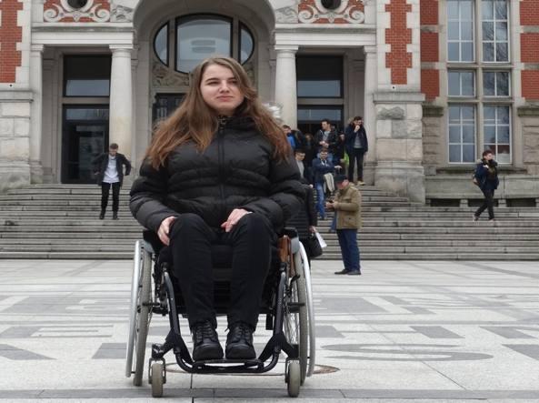 Ufficio Erasmus Architettura Firenze : La disabilità non ferma ewelina: con lerasmus parte per danzica
