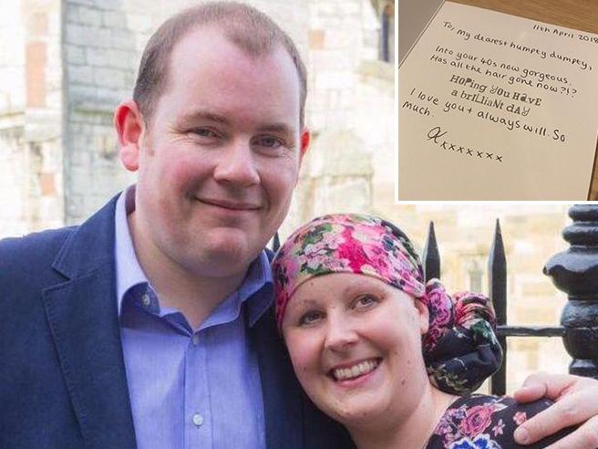 Kate, morta di cancro  scrive lettere al marito: ti amerò sempre