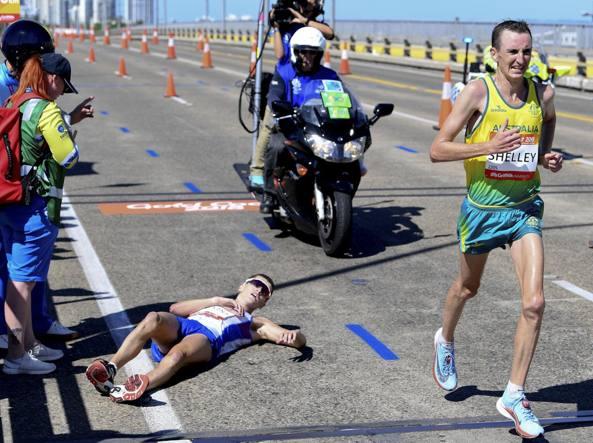 Il Maratoneta Calendario.Giochi Del Commonwealth Il Maratoneta Callum Hawkins