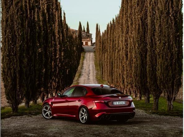 L'Alfa Romeo Giulia Quadrifoglio