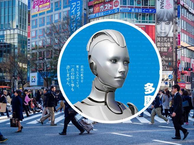 Un  robot si   candida a   sindaco(ma alla fine l'uomo vince)