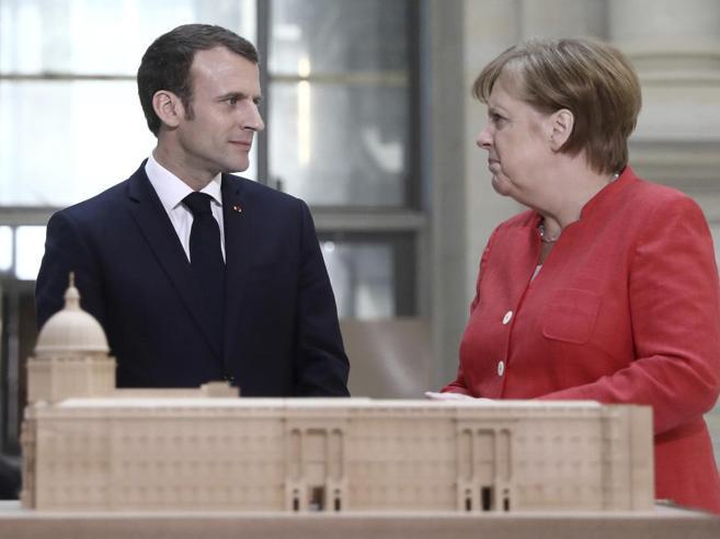 Merkel-Macron, vertice a Berlino «Entro giugno la nostra visione condivisa sulla nuova Europa»