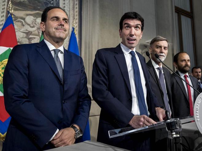 Non c'è l'accordo fra il centrodestra e il M5S, Di Maio: «Sì all'appoggio esterno di FI». No di Berlusconi. Salvini: «Scendo io in campo»