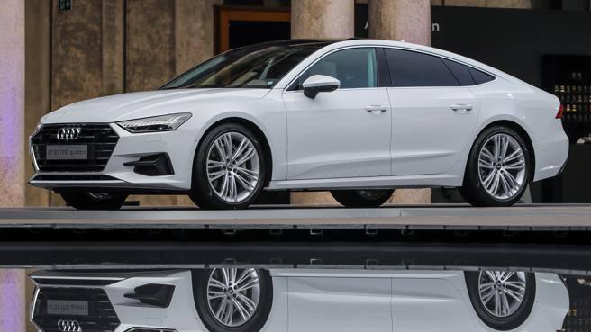 Audi, il «quinto anello» è il futuro La A7 Sportback alla Design Week