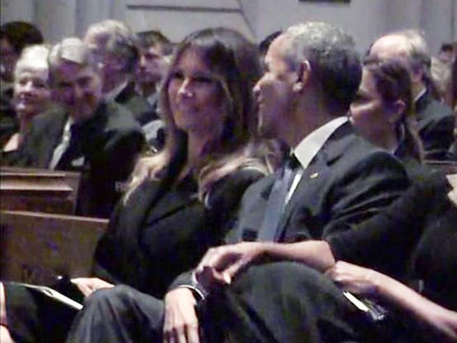 Funerali di Barbara Bush: foto di gruppo di ex presidenti (e mogli)