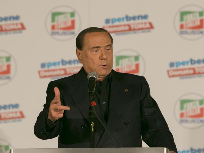 Berlusconi: «Centrodestra unito, nostro leader è Salvini. Mai detto noi con il  Pd»