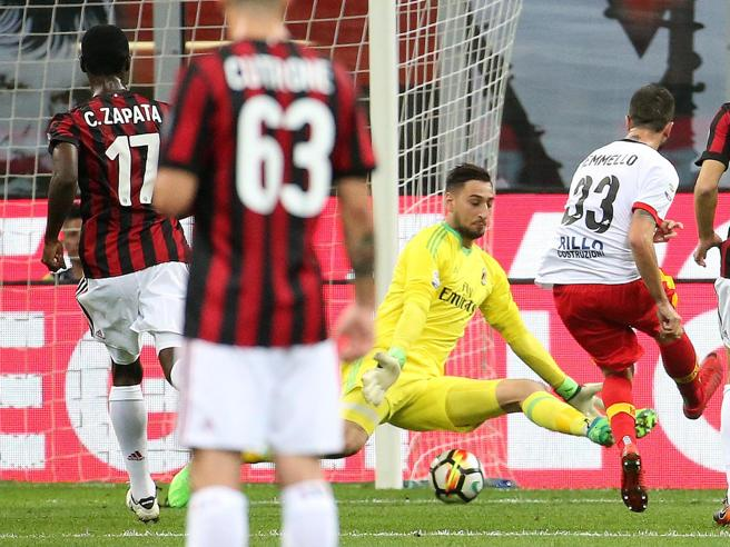 Milan-Benevento 0-1: per Gattuso si allontana il sogno  dell'Europa La classifica