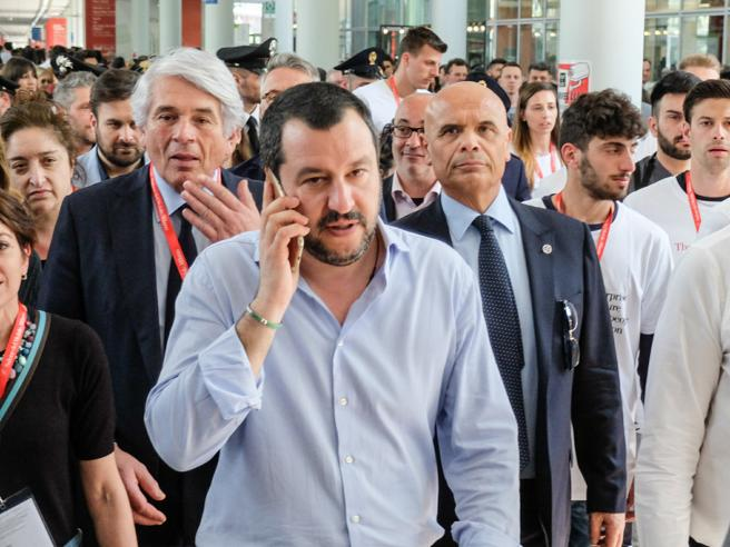 Salvini: «Datemi ancora qualche giorno, a maggio spero di e