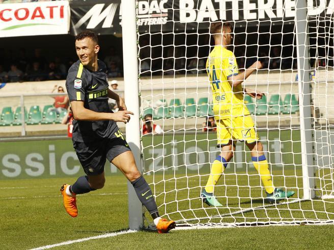 Chievo Inter 1 2: Icardi Perisic ancora in gol.  L'Atalanta