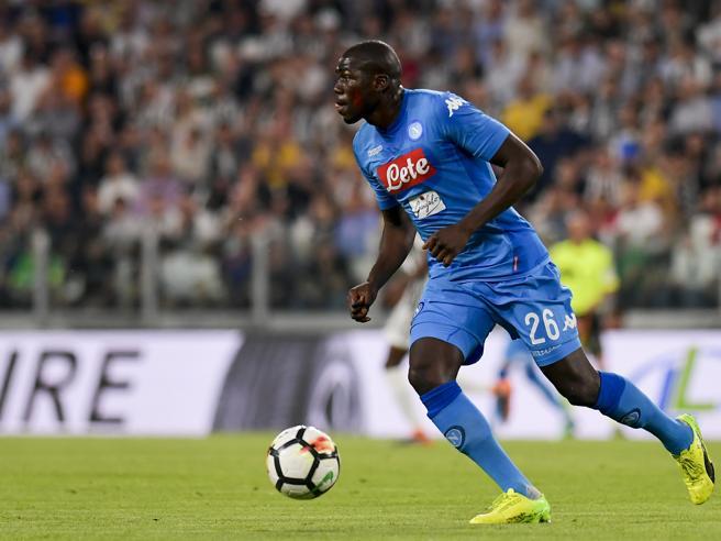 Juventus Napoli 0 1, Koulibaly al 90' prova a scucire lo  sc