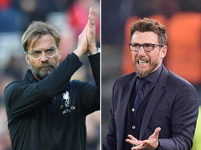 Liverpool-Roma, sfida di aggressioni e ripartenze: come la giocheranno Klopp e Di Francesco