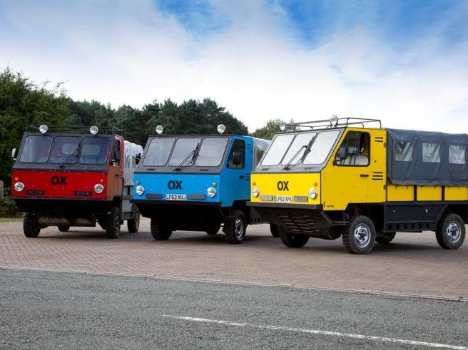 Ox, il camion che si monta come un mobile Ikea