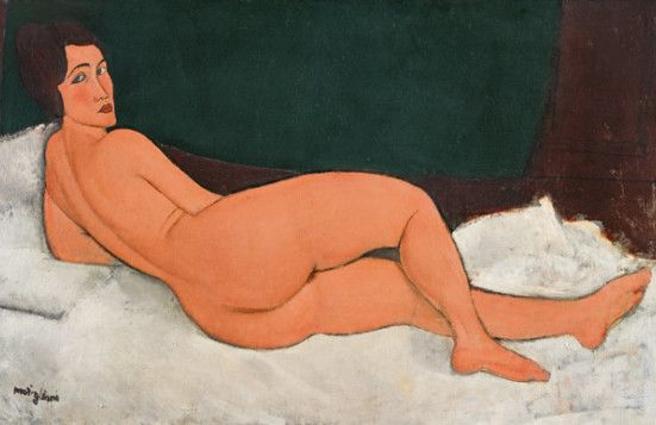 New York, nudo di Modigliani da Sotheby's a 150 milioni di dollari