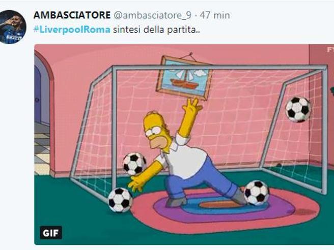 Liverpool-Roma, lo sconforto giallorosso corre sui social: Salah fa paura, quanti rimpianti per i tifosi