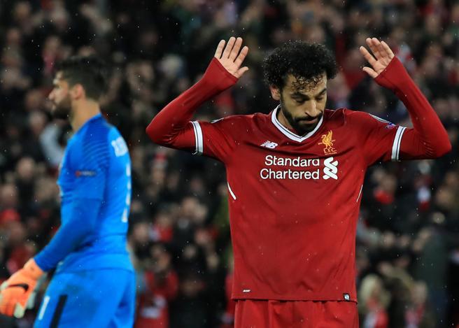 Liverpool Roma 5 2,    l'ex Salah  fa doppietta e non esulta