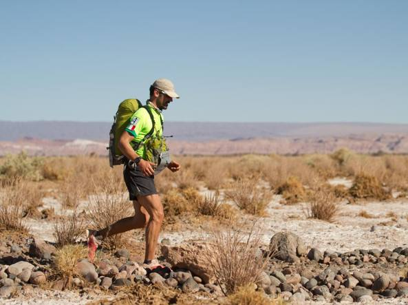 Sebastiano Arlotta Tarino alla  «Atacama Crossing - Racing the Planet»