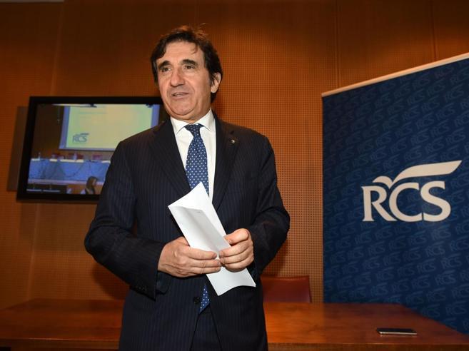 Cairo: «Rcs, il miglior bilancio da 10 anniObiettivo? Nel 2019   i dividendi»