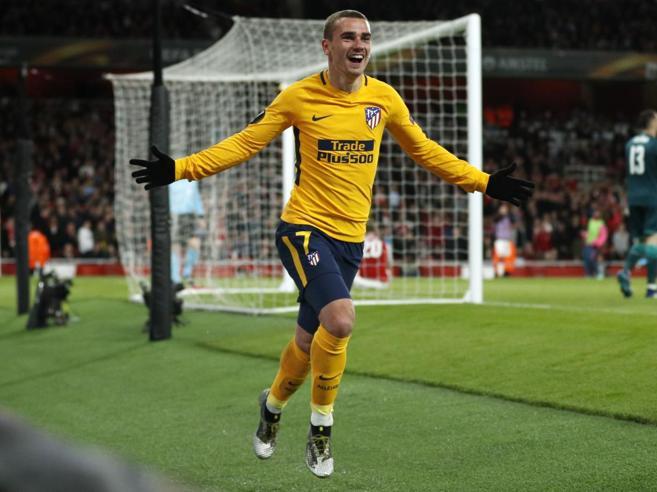 Europa League, semifinali: Arsenal-Atletico Madrid 1-1, Marsiglia-Salisburgo 2-0