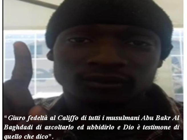 Il gambiano affiliato all'Isis: l'arrivo dalla Libia in barcone, poi l'ordine di colpire la folla