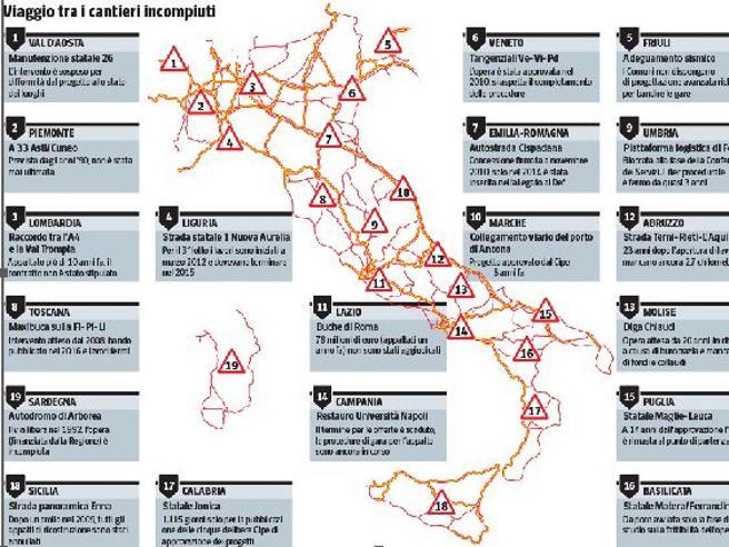 L'Italia è bloccata (la Maglie-Leuca ideata 24 anni fa e mai realizzata)