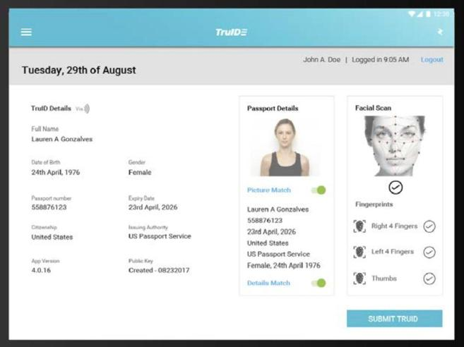 L'app che trasforma il tuo passaporto in un codice a barre