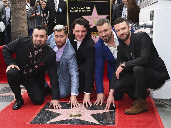 N'Sync a Hollywood: la boyband anni '90 riceve una stella sulla Walk of Fame