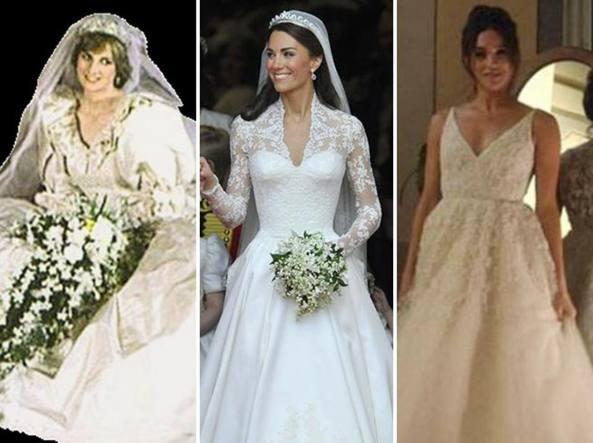 Abiti da sposa reali inglesi