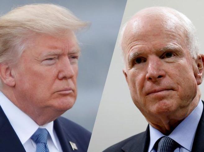 John McCain non vuole Trump al funerale. E sceglie il vice Pence