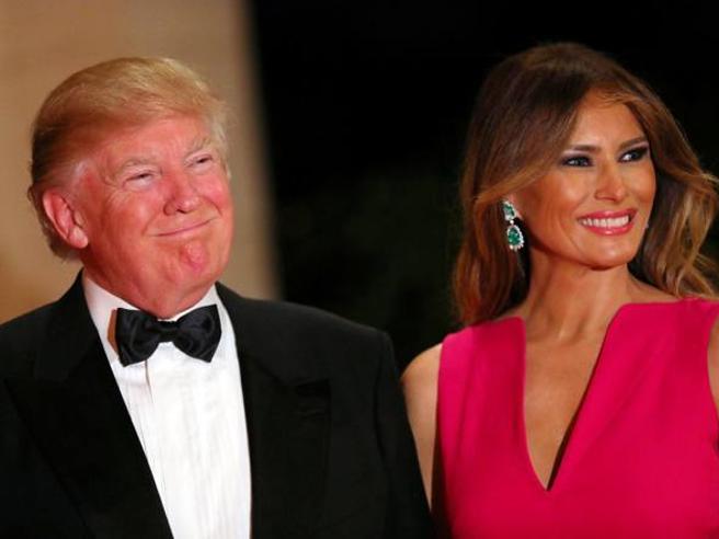 Stati Uniti: «Donald e Melania Trump separati in casa. E lei non sopporta più Ivanka»