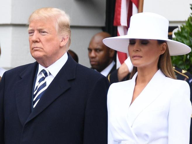 Melania Trump esce dall'ombra«Ecco cosa farò alla Casa Bianca»Lei e Donald? Separati in casa