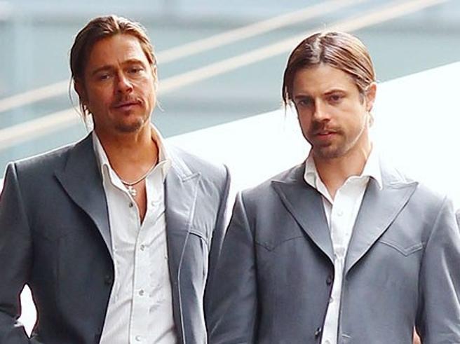 Brad Pitt e gli altri: 10 attori e le loro controfigure-sosia