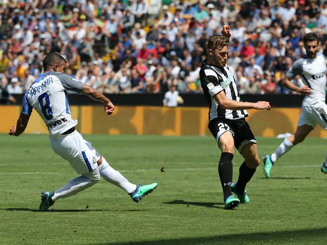 Udinese-Inter 0-4, pagelle: Lasagna pianta carnivora, Rafinha da biliardo e Brozovic ha il lancio giusto