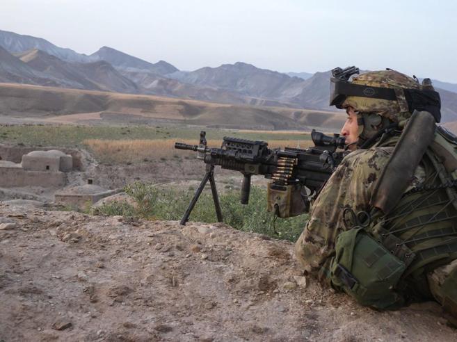 L'alpino Andrea in Afghanistan: «Così ho salvato una pattuglia dall'agguato dei talebani»  foto