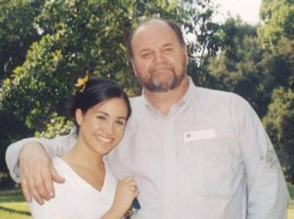 Meghan e Thomas Markle
