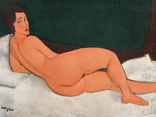 New York, nudo di Modigliani venduto a 157 milioni di dollari
