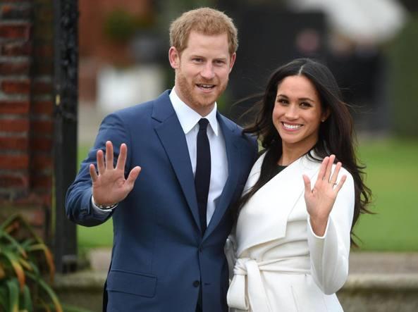 Matrimonio In Diretta Harry E Meghan : Harry e meghan markle data matrimonio diretta tv