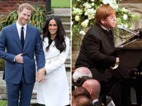 Matrimonio Harry In Chiesa : Harry e meghan elton john canterà al matrimonio corriere.it