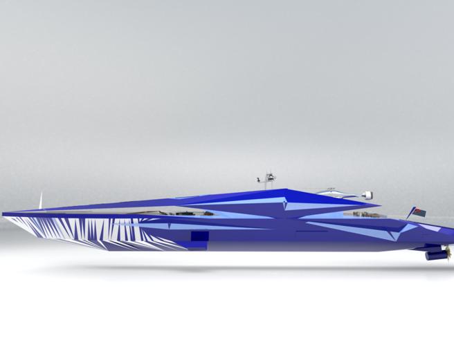 My Roswell, lo yacht che viene dal futuro