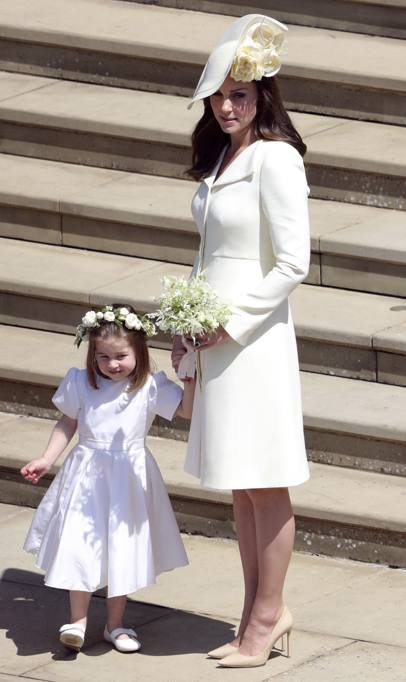 Regina Elisabetta E Kate Middleton Le Foto Al Matrimonio Di