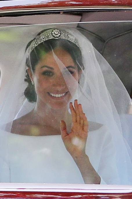 3d5af57a6524 Meghan Markle in abito da sposa Givenchy