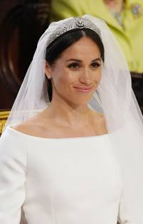 5c21b6884f60 Meghan Markle in abito da sposa