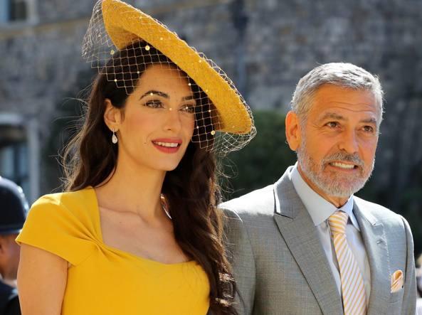 Matrimonio Harry E Megan : Clooney e amal al matrimonio harry megan l imprevisto