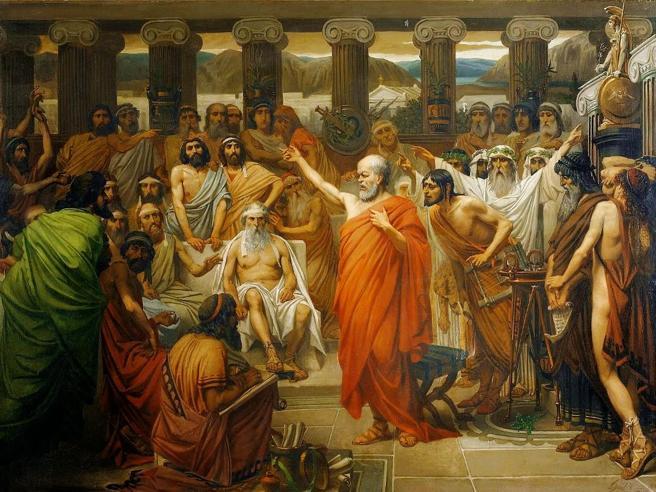 Socrate  provocò la giuria del processoQuasi cercando la condanna a morte