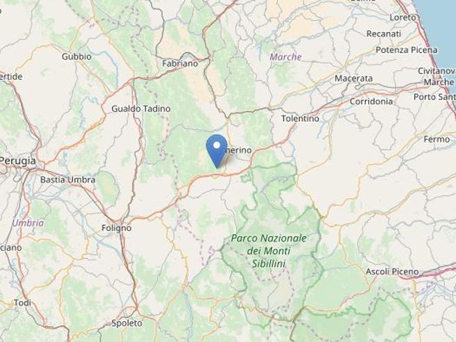 Terremoto Marche, 8 scosse: la più forte di magnitudo 3,8