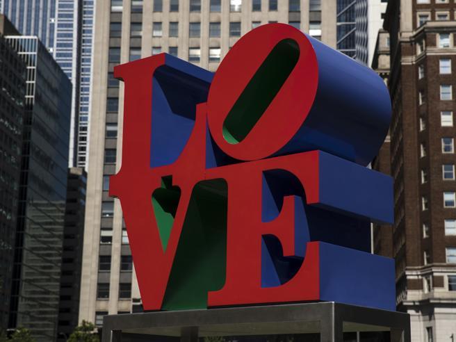 Morto Indiana, l'artista che rese un'icona la parola «LOVE»|Foto
