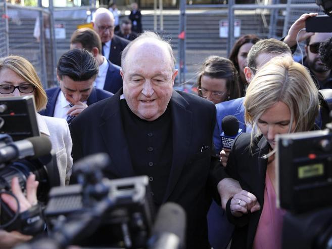 Pedofilia: arcivescovo Australia condannato per insabbiamento