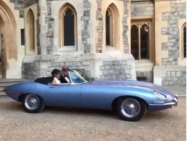Harry e Meghan, la Jaguar elettrica era del tastierista dei Jamiroquai