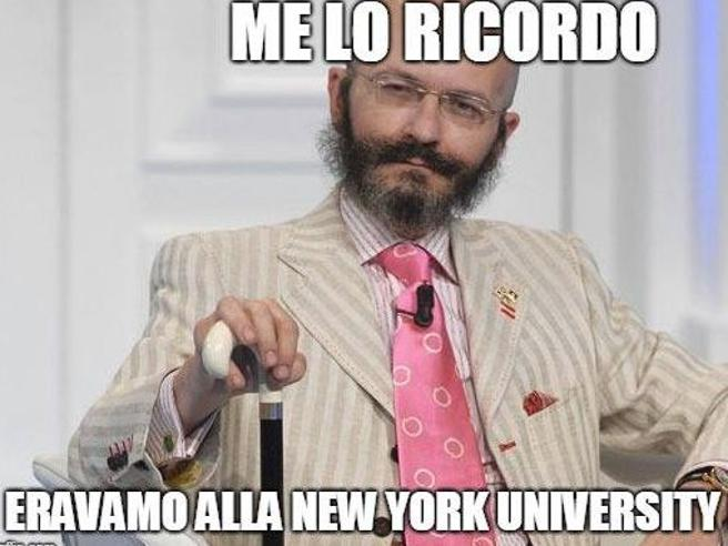 Curriculum di Conte, ironia social: «Compagno di studi di Oscar Giannino»