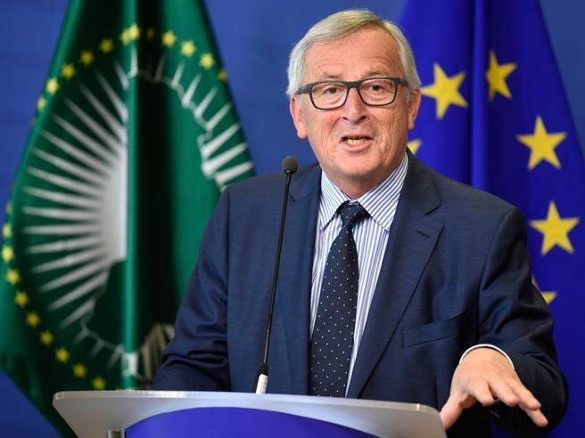Juncker: «Vigilare su diritti africani in Italia». Meloni: «Beva meno»