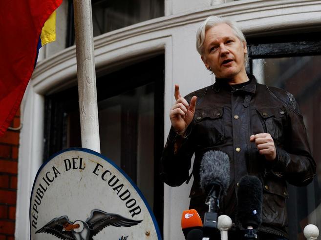 WikiLeaks, Cnn:  l'asilo di Assange in ambasciata Ecuador è a rischio